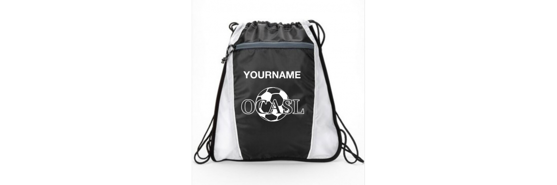 Personalized OCASL Cinch Bag